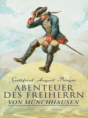 cover image of Abenteuer des Freiherrn von Münchhausen