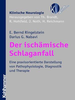 cover image of Der ischämische Schlaganfall