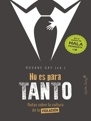 cover image of No es para tanto