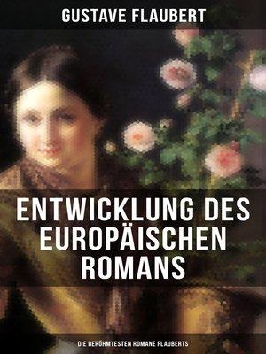 cover image of Entwicklung des europäischen Romans