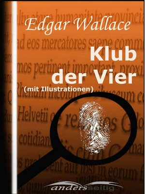 cover image of Klub der Vier (mit Illustrationen)