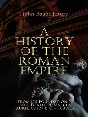 cover image of A History of the Roman Empire