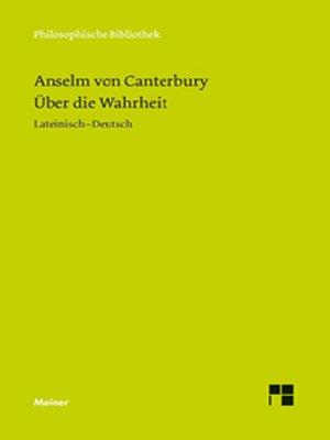 cover image of Über die Wahrheit