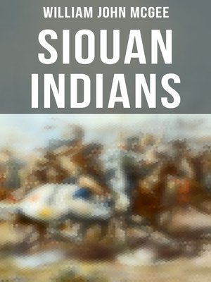 cover image of Siouan Indians