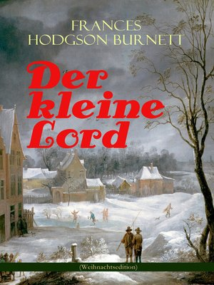 cover image of Der kleine Lord (Weihnachtsedition)