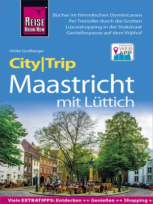 cover image of Reise Know-How CityTrip Maastricht