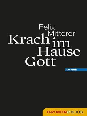 cover image of Krach im Hause Gott