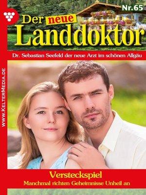 cover image of Der neue Landdoktor 65 – Arztroman
