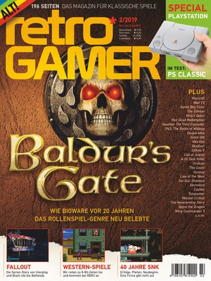 cover image of Retro Gamer 2/2019