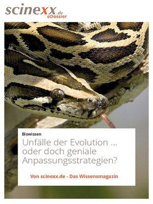 cover image of Unfälle der Evolution