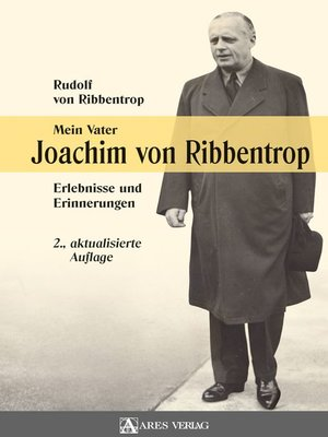 cover image of Mein Vater Joachim von Ribbentrop