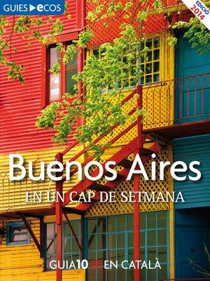 cover image of Buenos Aires. En un cap de setmana