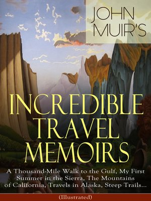 cover image of John Muir's Incredible Travel Memoirs