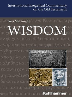 cover image of Wisdom