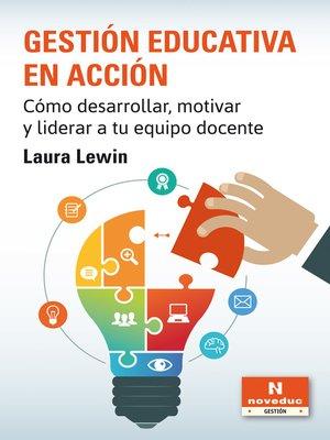 cover image of Gestión educativa en acción