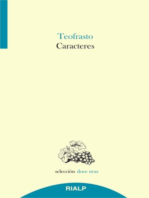 cover image of Caracteres
