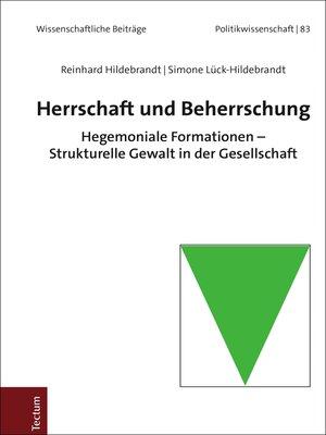 cover image of Herrschaft und Beherrschung