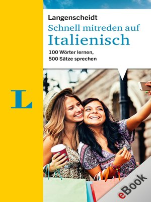 cover image of Schnell mitreden auf Italienisch