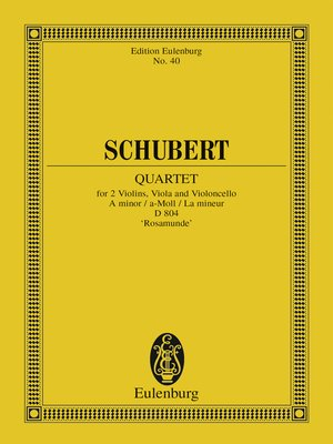 cover image of Quartet a minor