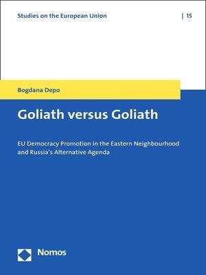 cover image of Goliath versus Goliath