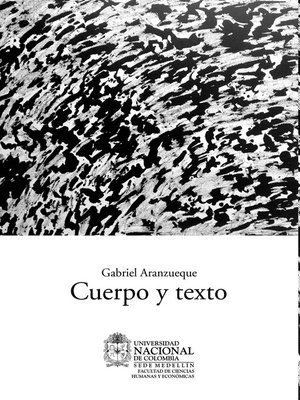 cover image of Cuerpo y texto