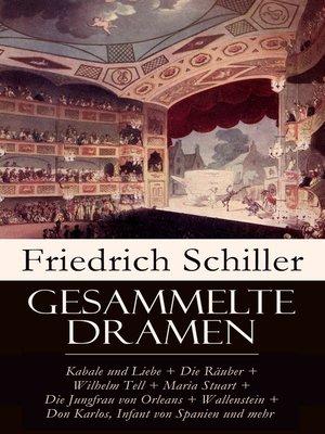 cover image of Gesammelte Dramen