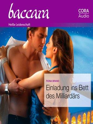 cover image of Einladung ins Bett des Milliardärs (Baccara 2061)