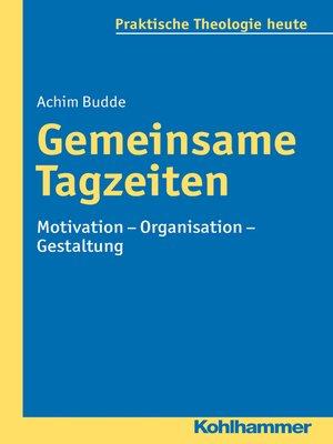 cover image of Gemeinsame Tagzeiten