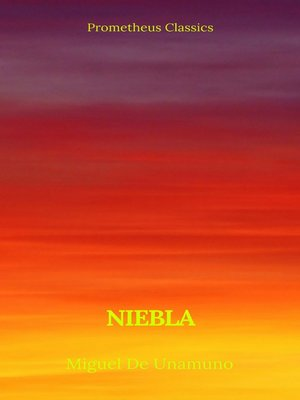 cover image of Niebla (Prometheus Classics)
