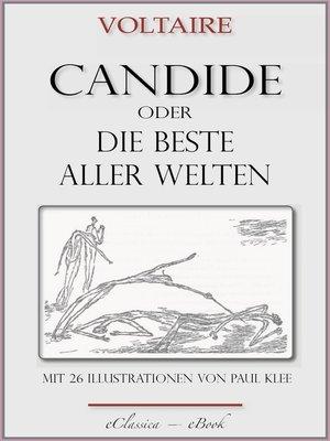 """cover image of Candide oder """"Die beste aller Welten"""""""