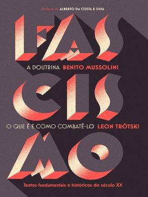 cover image of Fascismo