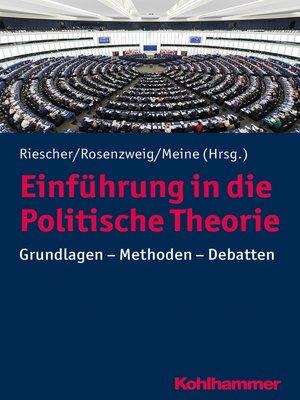 cover image of Einführung in die Politische Theorie