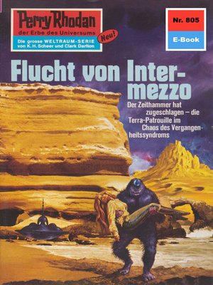 cover image of Perry Rhodan 805