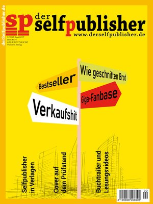 cover image of der selfpublisher 6, 2-2017, Heft 6, Juni 2017