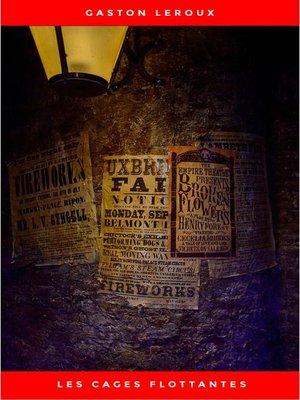 cover image of Les Cages flottantes--Premières Aventures de Chéri-Bibi--Tome I