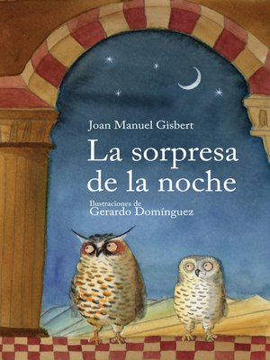 cover image of La sorpresa de la noche