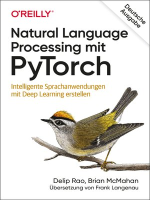 cover image of Natural Language Processing mit PyTorch
