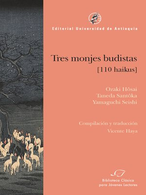 cover image of Tres monjes budistas