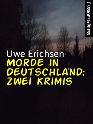 cover image of Morde in Deutschland
