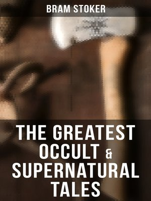 cover image of Occult & Supernatural Tales