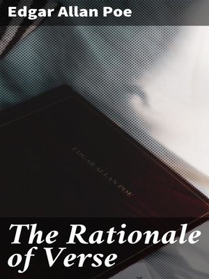 cover image of The Rationale of Verse