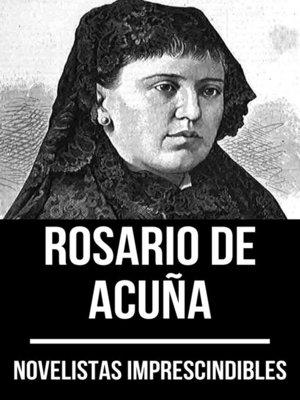 cover image of Novelistas Imprescindibles--Rosario de Acuña