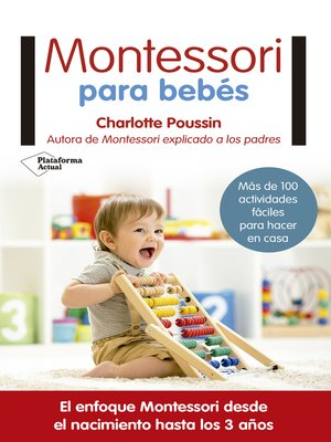 cover image of Montessori para bebés