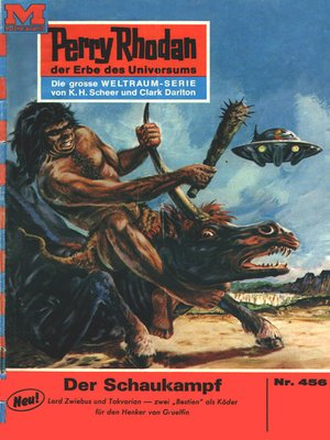 cover image of Perry Rhodan 456