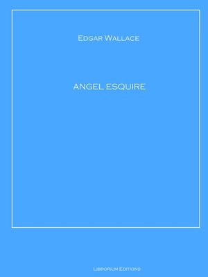 cover image of ANGEL ESQUIRE