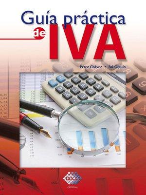 cover image of Guía práctica de IVA 2017