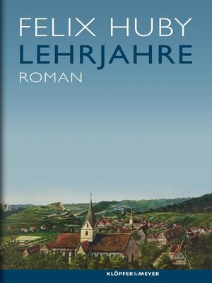 cover image of Lehrjahre