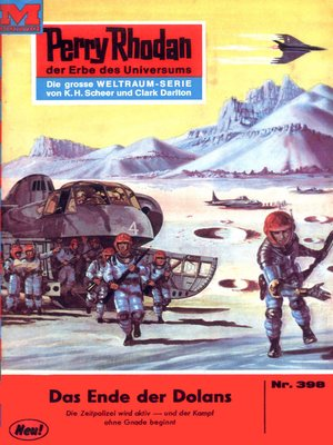 cover image of Perry Rhodan 398