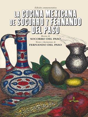 cover image of La cocina mexicana de Socorro y Fernando del Paso