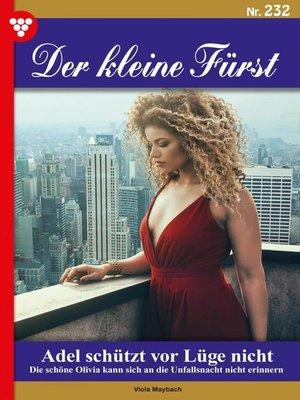 cover image of Der kleine Fürst 232 – Adelsroman